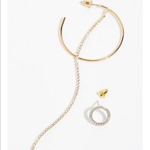 Free people lucky star asymmetric earring